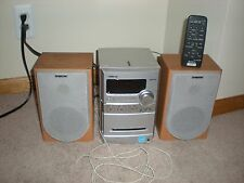 Sony CMT-NEZ3 Single-CD/Tape/AM/FM Desktop Micro System W/ REMOTE & ANTENNA