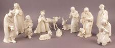 A set of 12 Big Pieces M.J. Hummel Goebel Nativity Cristmes Figures c1951 & 1960