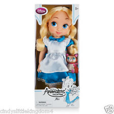 New Disney Store Alice In Wonderland Animators Collection doll 38cm Tall Age 3+