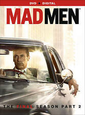 New! MAD MEN The Final Season Part 2 on DVD 3-Disc Set USA Season 7 Part 2