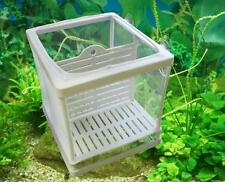 Hatchery Plastic Frame Net Incubator Breeder Breeding Isolation Fry Fish Tank