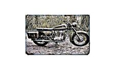 Ducati 350 Single Motorbike A4 photo Retro Bike