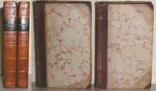 1815 WORKS OF DESTOUCHES FRENCH DRAMATIST 2 VOL LEATHER