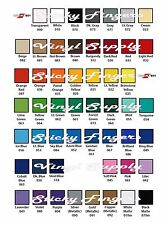 """6 Sheets ORACAL 651 Vinyl 12"""" x 12"""" Choose From 56 COLORS Outdoor Adhesive"""