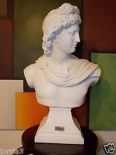 Bust of Greek God Apollo By Austin Sculptures Statue