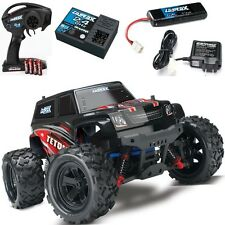 Traxxas 1/18 LaTrax 76054 Teton 4WD Monster Truck Red w/ Radio & AC Charger RTR