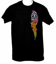 HOOTERS SURF + STREET T-SHIRT - MENS SMALL - SURFBOARD/SKELTON SKULL - NEW