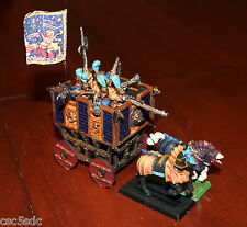 Warhammer Fantasy Age of Sigmar Empire Freeguild War Wagon 1992 painted rare oop