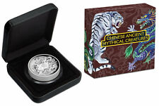 2015 Australia Tuvalu Mythical Creatures 5oz Dragon Silver Coin