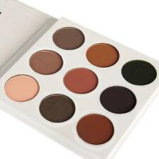 9 Colour Eyeshadow Palette Smokey Eye Nude Brown Black Chocolate Make Up ToolYA