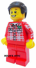LEGO TOWN CITY  BOY MINIFIGURE  NEW