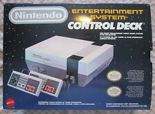 Nintendo NES Console Control Deck (2 controllers, AC Adapter, RF Switch, in box)