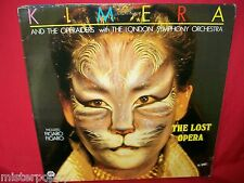 KIMERA AND THE OPRAIDERS w LSO The lost Opera LP ITALY 1985 MINT-