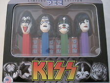 KISS band PEZ candy dispensors NEW Simmons Stanley Ace Criss official