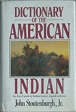 DICTIONARY OF THE AMERICAN INDIAN, 1990 (A-Z INDIAN HISTORY, LEGEND, LORE