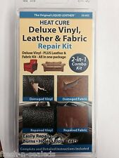 NEW Leather Liquid And Vinyl Repair Kit Furniture Car Seat/ Heat Tool Sofa