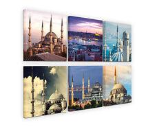 6x30x30cm Leinwandbilder Moschee Istanbul Türkei Architektur Fotografie SinusArt