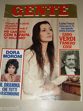 GENTE=1979/35=CARLA FRACCI=IBRAHIM KODRA=PAOLO VILLAGGIO=ADRIANO PANATTA=