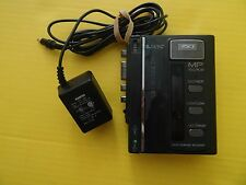 VINTAGE SANYO TRC1196 CASSETTE RECORDER W/ POWER ADAPTER **TESTED/WORKS**