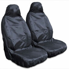RENAULT MEGANE DYNAMIQUE (08-) PREMIUM HEAVY DUTY FRONT SEAT COVER SET BLACK 1-1