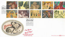 Benham FDC Kilgetty Dyfed Special Postmark Full Set 10 Greetings Stamps.