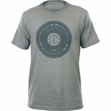Electric Chase Short Sleeve Tee T-Shirt (M) Heather Grey