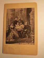 Der Kaiser mit Familie - 1882 - Wilhelm I & II - Friedrich III / Kunstbild / KAB