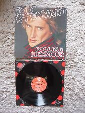 Rod Stewart Foolish Behaviour 1980 Vinyl Record Complete With Inner Sleeve