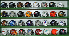 NFL Complete Set of (32) RIDDELL Football GUMBALL Mini HELMETS New