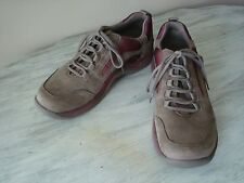 Clarks Springers Mens Nu-Buck Leather Sport Casual Oxfords Size 7 1/2 M