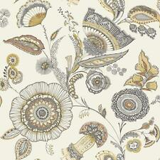 Arthouse Catarina Floral Leaf Wallpaper Modern Metallic Motif Jacobean 690801