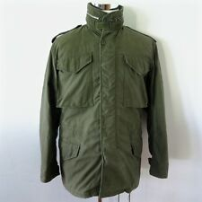 VINTAGE ORIGINAL 1965 US ARMY M-65 M65 FIELD COAT JACKET SMALL 1st ISSUE SERVAL
