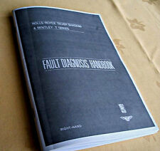 Rolls-Royce SILVER SHADOW Confidential Faults diagnosis booklet