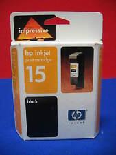 HP INKJET PRINT CARTRIDGE 15 BLACK IMPRESSIVE