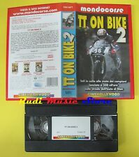 film VHS TT ON BIKE 2 2001 mondocorse CINEHOLLYWOOD CHV 8471 90 min (F32 )no dvd