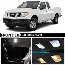 7x White Interior LED Lights Package for 2005-2016 Frontier + FREE TOOL