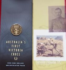 2000  $1 Victoria Cross in Mint pack of Issue UNC/BU Rare Low Mintage Australia