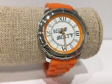 Reloj Watch Montre MISS SIXTY - Star - SIJ001 - Quartz - Silver & Orange - 40 mm