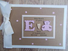 Personalised My First Year Baby Photo Album Scrapbook/Memory Gift With Box