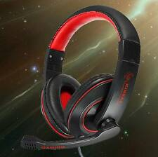 New Gaming Headset Surround Hifi Stereo Headband Headphone 3.5mm with Mic for PC