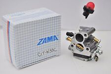 GENUINE OEM Zama C1T-W33 Carburetor for  Husqvarna 235, 235E, 240, 240E Chainsaw