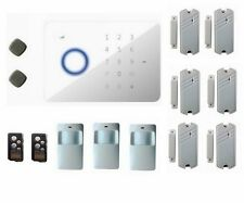 Quad-Band Touch Keypad GSM SMS RFID Wireless Home Alarm System Auto Dial G5 New