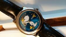 Peanuts Snoopy Woodstock Armitron Water Resistant Watch in Case New Battery