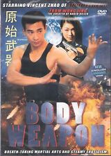 Body Weapon English Language DVD Vincent Zhao