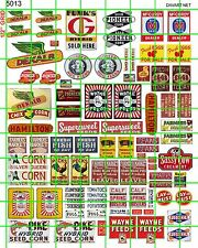 5013 DAVE'S DECALS RURAL FARM SEED CO GRAIN WAYNE FIELD BARN CROP SIGNAGE MORE