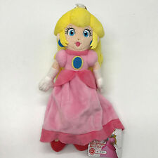 New Super Mario Bros Plush Princess Peach Soft Toy Stuffed Animal Doll Teddy 10""