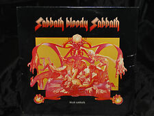 Black Sabbath Sabbath Bloody Sabbath SEALED 1ST PRESS USA 1974 LP W/ NO BARCODE