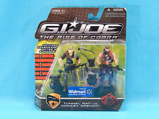 G.I. Joe The Rise of Cobra Tunnel Rat vs. Monkey Wrench Walmart Exclusive 2008