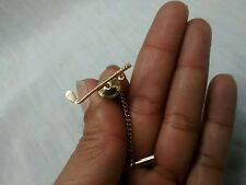 Nice vintage Tiffany and Co 14k gold golf club tie tack pin