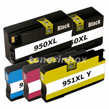 5pk 950XL 951XL Compatible Ink Cartridge For OfficeJet Pro 8100 8600 8610 8615